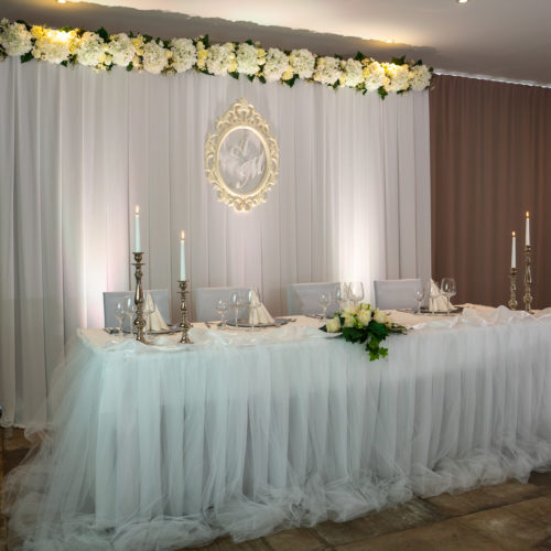 Boho Style Backdrop for Wedding